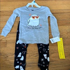 Carters I love to boogie pajama